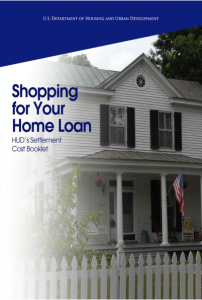 Shopping for Your Home Loan - HUD's Settlement Cost Booklet - U.S. Department of Housing and Urban Development