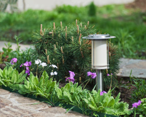 Add Outdoor Lighting - 8 Budget Friendly Curb Appeal Ideas Done in a Day